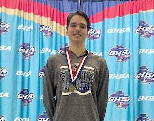 Swim State Champ