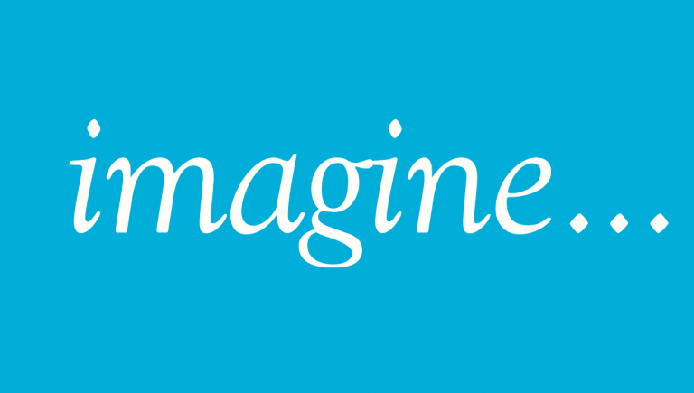 "SAVE THE DATE for ""imagine…"""