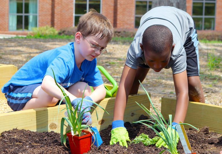 MPCS Lower School Garden