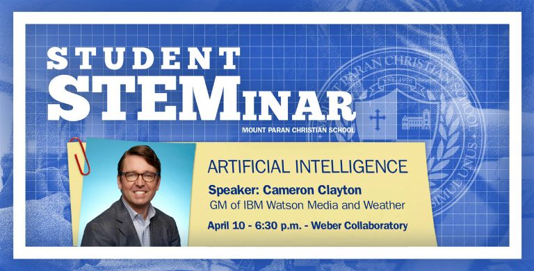 STUDENT STEMinar: Artificial Intelligence