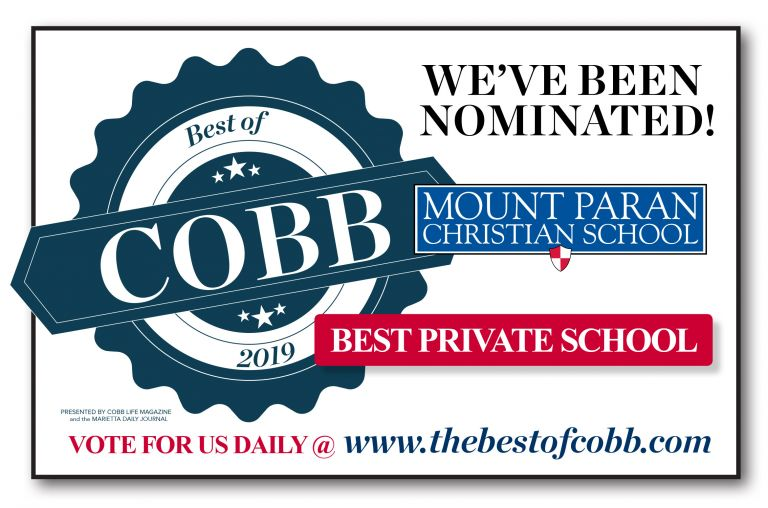 "Vote MPCS ""Best of Cobb"""