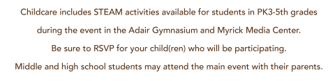 Childcare information