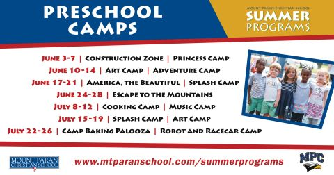Summer Programs of the Week: Preschool Camps