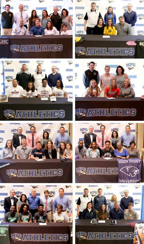 Class of 2019 Athletic Signings