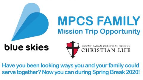 Mpc Spring Break 2020.News Mount Paran Christian School