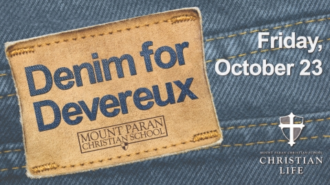 Denim for Devereux