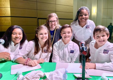 Middle School Wins Black History Bowl