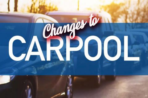 Important Carpool Changes for Grades K-8