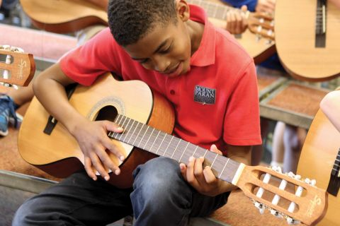 Guitar lessons at MPCS