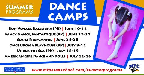Summer Program of the Week: Dance Camps
