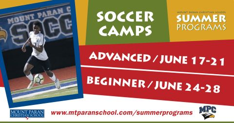 Mpc Spring Break 2020.Summer Program Of The Week Mpc Soccer Mount Paran