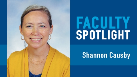 Faculty Spotlight: Shannon Causby