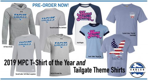 Pre-Order T-shirt of the Year and Tailgate Shirts