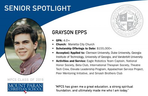 Senior Spotlight: Grayson Epps