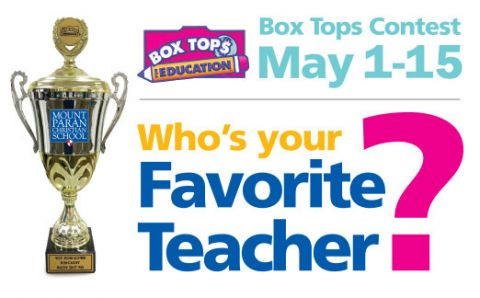 Box Tops Spring Contest