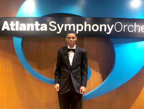 Student Performs at Symphony Hall