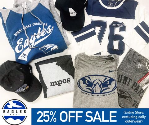 Eagles Nest End-of-Year Sale