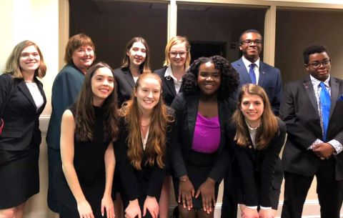 Mock Trial Places 2nd in State