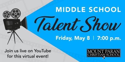 Middle School Virtual Talent Show