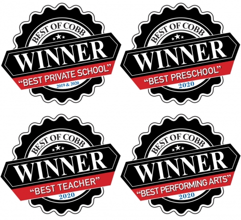 "MPCS was voted Best of the Best ""Private School"" and ""Preschool"" in Cobb County, northwest Atlanta"