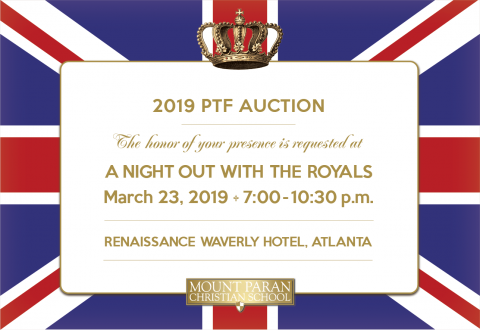 Join Us for the 2019 PTF Auction!
