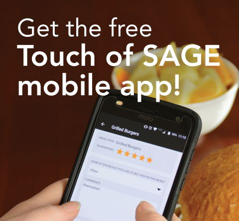 Touch of SAGE Dining App