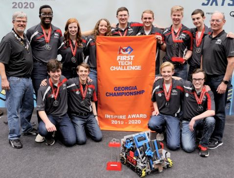 MPC Eagle Robotics Wins Two State Championships